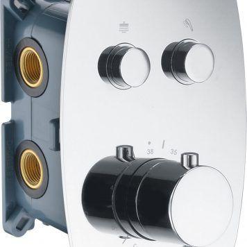 Misturadoras termostáticas embutidas