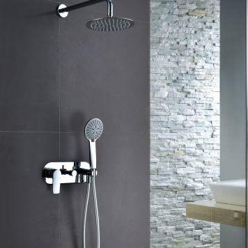Conjunto de duche com torneira