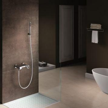 Monocomando de banheira-duche Imex série Olimpo Ambiente