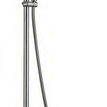 Rampa de duche termostática anti-corrosão