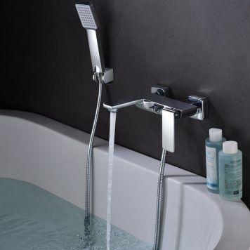 Torneira monocomando de banheira Imex série Fiyi