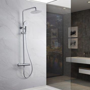 Rampa de duche termostática